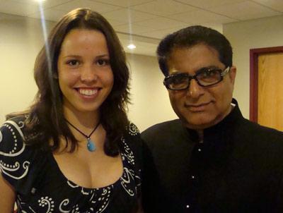 Julia and Deepak